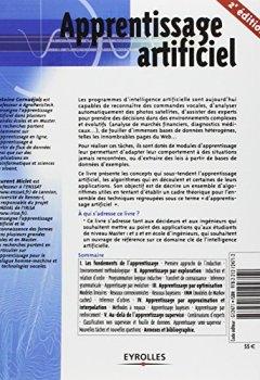 Livres Couvertures de Apprentissage artificiel - Concepts et algorithmes