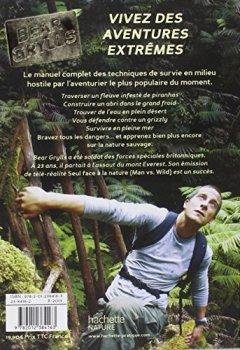 Livres Couvertures de Guide de survie de Bear Grylls