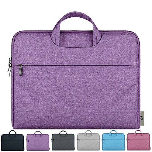 Litop-11-116-Inch-Waterproof-Fabric-Notebook-Sleeve-Laptop-Bag-Case-with-Handle-for-Apple-MacBook-Air-116-inch-Ultrabook-Acer-Asus-Dell-HP-SONY-Toshiba-Lenovo-Thinkpad-Chromebook