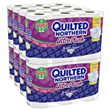 Quilted Northern Ultra Plush is the only 3-ply bath tissue with the Innerlux Layer for 3 layers of a soft, gentle clean designed to provide you with the luxurious experience you deserve. 48 Double Rolls = 96 Regular RollsPackaged in an easy-to-open b...