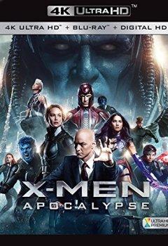 Livres Couvertures de X-Men : Apocalypse [4K Ultra HD + Blu-ray + Digital HD]