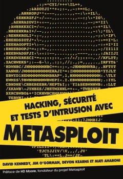 Livres Couvertures de Hacking, sécurité et tests d'intrusion avec Metasploit