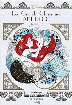 Livres Couvertures de Les grands classiques Disney art déco tome 2