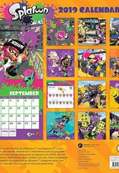Livres Couvertures de Splatoon 2019 Calendar