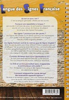 Livres Couvertures de La lsf en 15 etapes (livre + DVD)