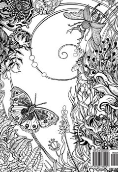 Livres Couvertures de Manic Botanic: Zifflin's Coloring Book