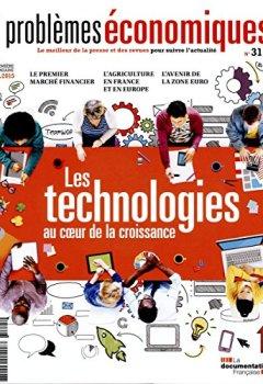 Livres Couvertures de Problèmes économiques n°3115 : Les technologies au coeur de la croissance
