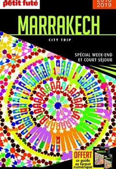 Livres Couvertures de Petit futé Marrakech