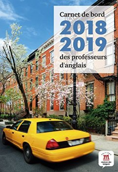Livres Couvertures de Carnet de bord 2018-2019 des professeurs d'anglais