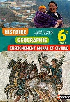 Livres Couvertures de Histoire-Géographie-EMC 6e - Nouveau programme 2016