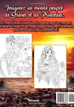 Livres Couvertures de Livre de Coloriage: Sirènes & Princesses