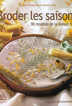 Livres Couvertures de Broder les saisons : 90 modèles de la maison Noël