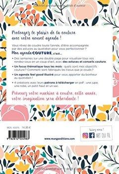 Livres Couvertures de Agenda Couture Mon Agenda Couture 2018