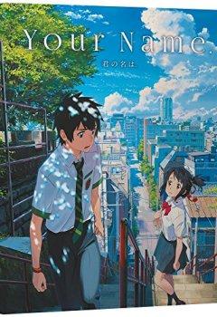 Livres Couvertures de Your Name - Édition Steelbook - Combo Bluray/DVD - Inclus l'OST du film [Combo Blu-ray + DVD + CD BO - Édition boîtier SteelBook]