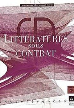 Livres Couvertures de Littératures sous contrat