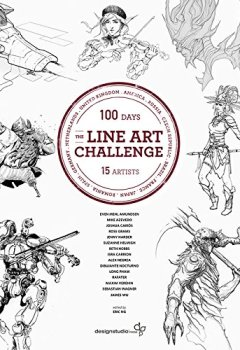 Livres Couvertures de The Line Art Challenge: 100 Sketches in 100 Days