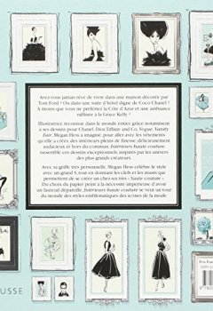 Livres Couvertures de Intérieurs haute couture