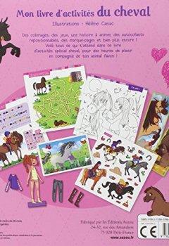 Livres Couvertures de Mon livre d'activités du cheval