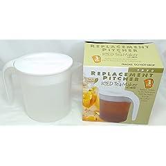 Mr. Coffee 3 quart TP70 Tea Maker Replacement Pitcher for TM70