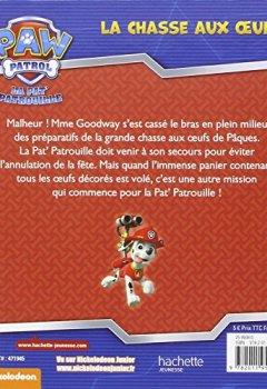 Livres Couvertures de Paw Patrol - La Pat' Patrouille / La chasse aux oeufs