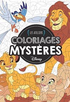 Livres Couvertures de Animaux, Coloriages Mystères, ATELIERS DISNEY