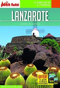Livres Couvertures de Guide Lanzarote 2018 Carnet Petit Futé