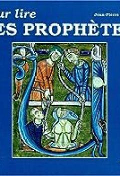 Livres Couvertures de Pour lire les prophètes