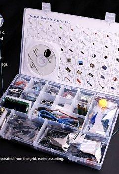 Livres Couvertures de Elegoo UNO Projet Kit De Démarrage Le Plus Complet Mode D'emploi Avec Guide D'utilisation Français Pour Arduino Kit UNO R3 NANO