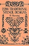 2,286 Traditional Stencil Designs (Dover Pictorial Archive) (English Edition)