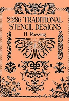 Livres Couvertures de 2,286 Traditional Stencil Designs (Dover Pictorial Archive) (English Edition)