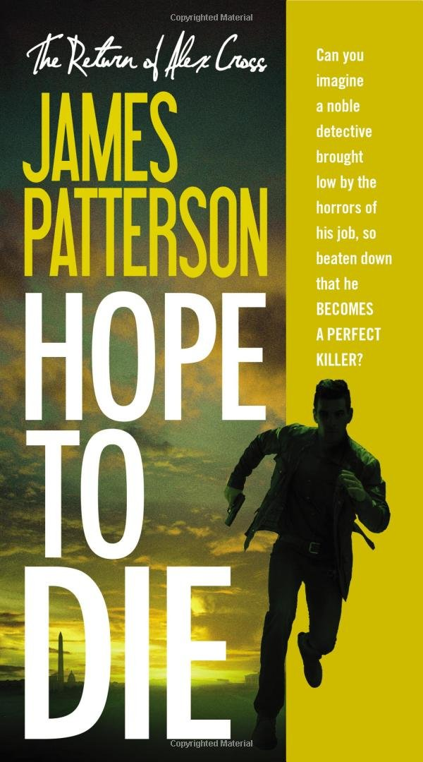 James Patterson - Hope to Die (Alex Cross) epub book