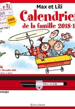 Livres Couvertures de Calendrier de la famille Max et Lili 2018-2019
