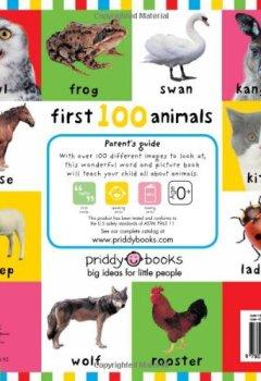 Livres Couvertures de First 100 Animals