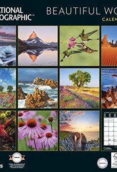 Livres Couvertures de National Geographic Beautiful World 2019 Broschürenkalender