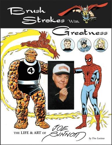 Brush Strokes With Greatness: The Life & Art Of Joe Sinnott, Mr. Media Interviews