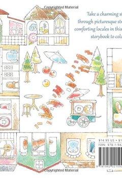 Livres Couvertures de My Colorful Town: A Coloring Tour