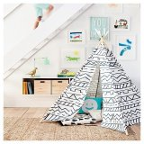 Teepee-Gray-White-Pillowfort