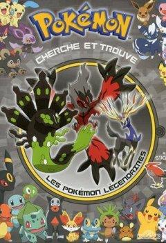 Livres Couvertures de Cherche et Trouve les Pokémon Légendaires