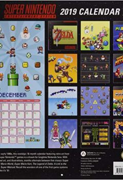 Livres Couvertures de Super Nintendo Entertainment System 2019 Calendar