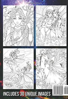 Livres Couvertures de Fairies Coloring Book