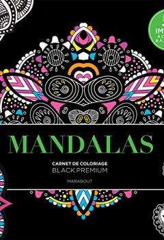 Livres Couvertures de Black Premium Mandalas