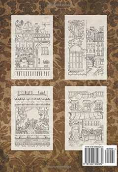 Livres Couvertures de Adult Coloring Book: Nice Little Town