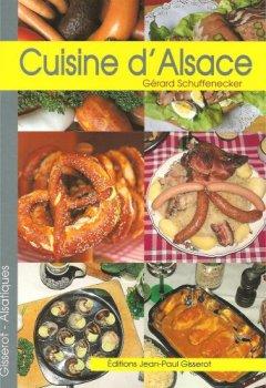 Livres Couvertures de Cuisine d'alsace