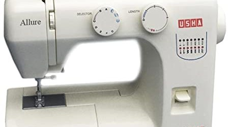 Usha Janome Allure 75-Watt Sewing Machine