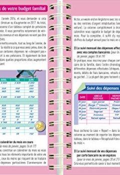 Livres Couvertures de Budget familial Mémoniak 2017
