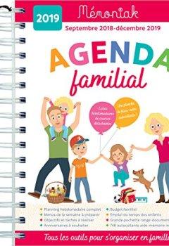 Livres Couvertures de Agenda familial Mémoniak 2018-2019
