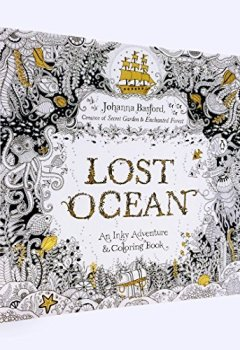 Livres Couvertures de Lost Ocean: An Inky Adventure and Coloring Book for Adults