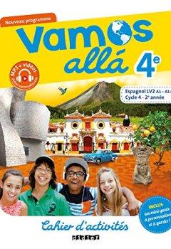 Livres Couvertures de Vamos allá 4e - Cycle 4, 2eme année - Espagnol LV2 (A1, A1+) - Cahier d'activités