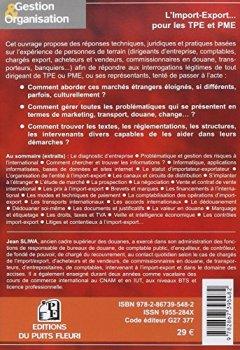 Livres Couvertures de L'Import-Export : Présenté, expliqué et commenté pour les TPE et PME
