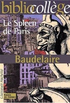 Livres Couvertures de Le Spleen de Paris - Petits Poèmes en prose - Baudelaire